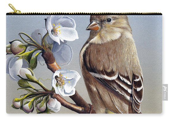 Spring Splendor Carry-all Pouch