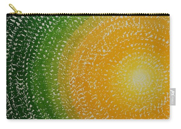 Spring Sun Original Painting Carry-all Pouch