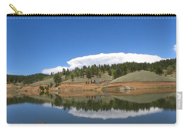 Carry-all Pouch featuring the photograph Ridge Over Burgess Res Divide Co by Margarethe Binkley