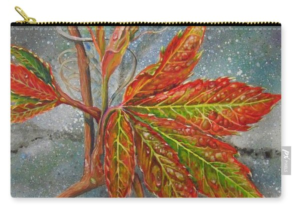 Spring Virginia Creeper Carry-all Pouch