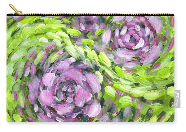 Spring Whirl Carry-all Pouch