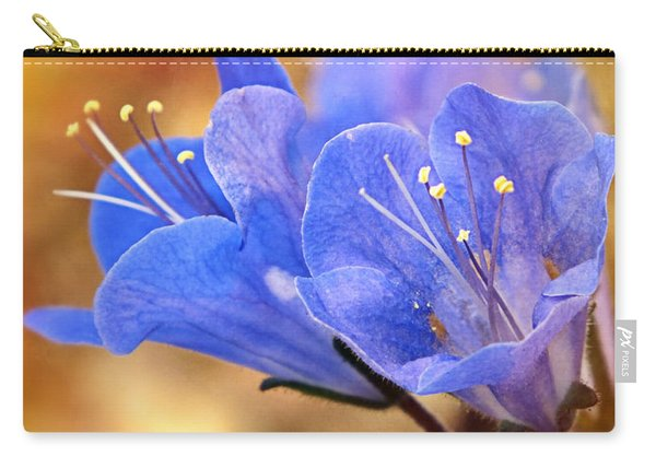 Spring Wildflowers - The Desert Bluebells Carry-all Pouch