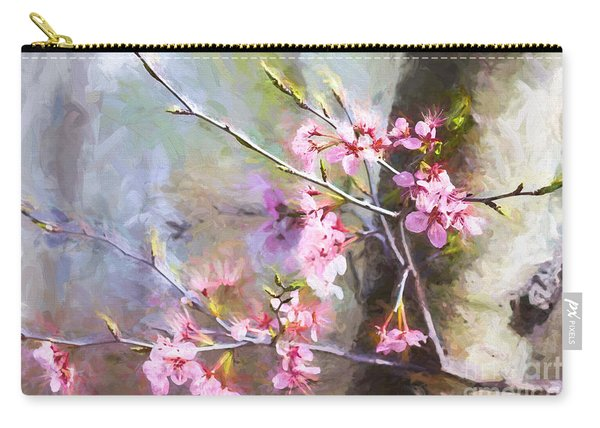 Spring's Awaited Color Carry-all Pouch