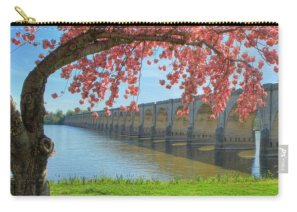 Springtime On The River Carry-all Pouch