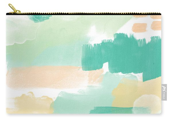 Spumoni- Abstract Painting Carry-all Pouch