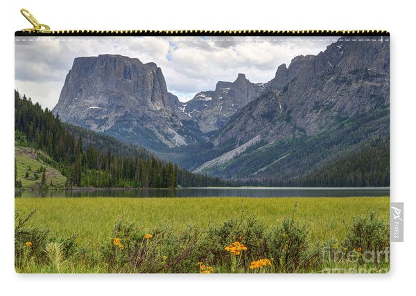 Squaretop Mountain And Upper Green River Lake  Carry-all Pouch