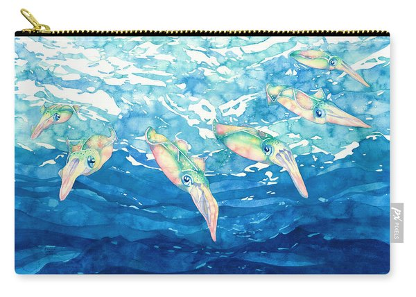 Squid Ballet Carry-all Pouch