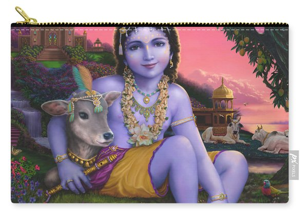 Sri Krishnachandra Carry-all Pouch