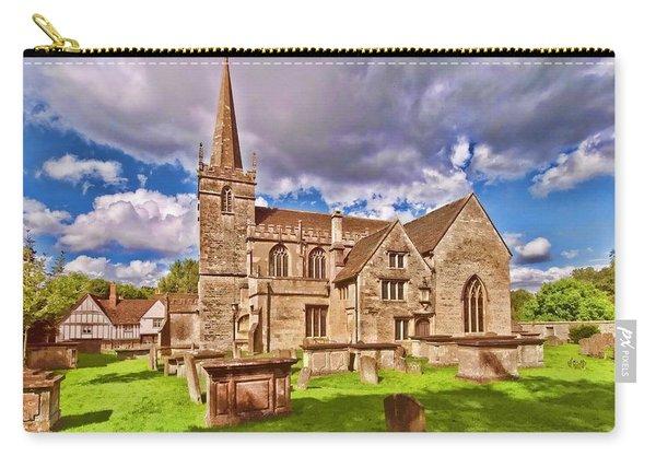 St Cyriac Church Lacock Carry-all Pouch
