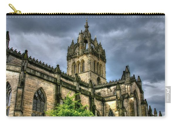St Giles And Tree Carry-all Pouch