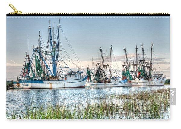 St. Helena Island Shrimp Boats Carry-all Pouch
