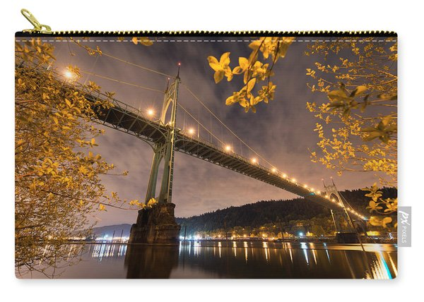 Carry-all Pouch featuring the photograph St. John's Splendor by Dustin  LeFevre