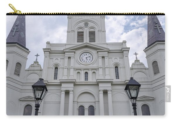 St. Louis Cathedral Close-up Carry-all Pouch