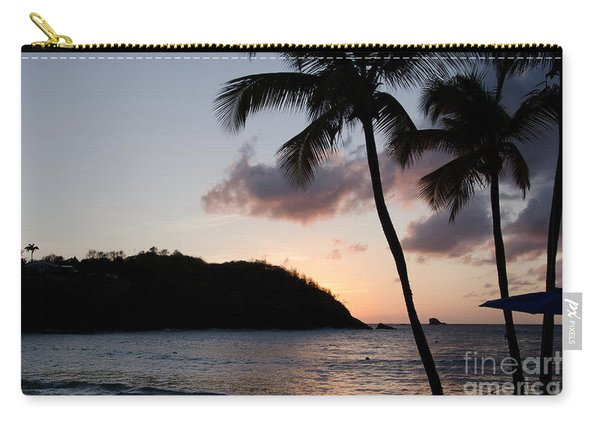 St. Lucian Sunset Carry-all Pouch