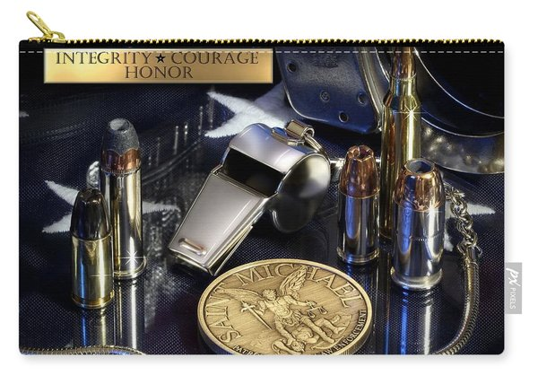 St Michael Law Enforcement Carry-all Pouch