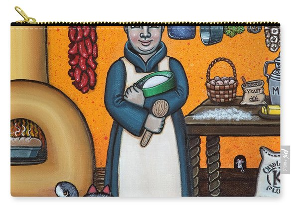 St. Pascual Making Bread Carry-all Pouch