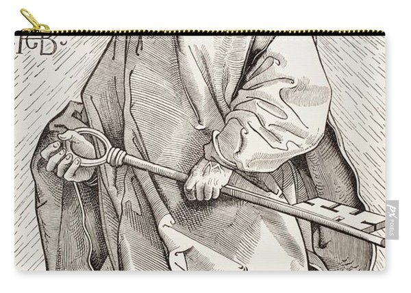 St Peter Holding The Keys Of The Kingdom Of Heaven Carry-all Pouch