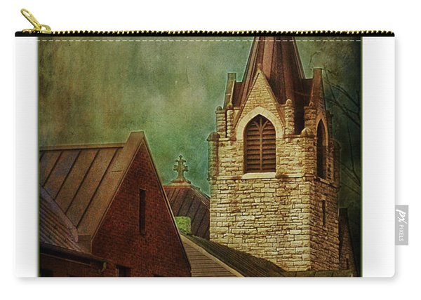 St Peter's By Night Greeting Card Carry-all Pouch