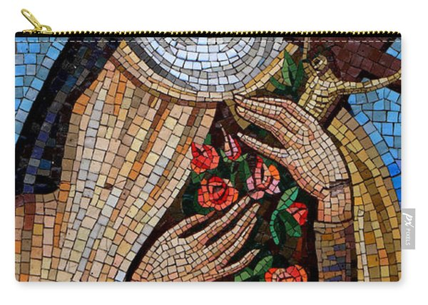 St. Theresa Mosaic Carry-all Pouch