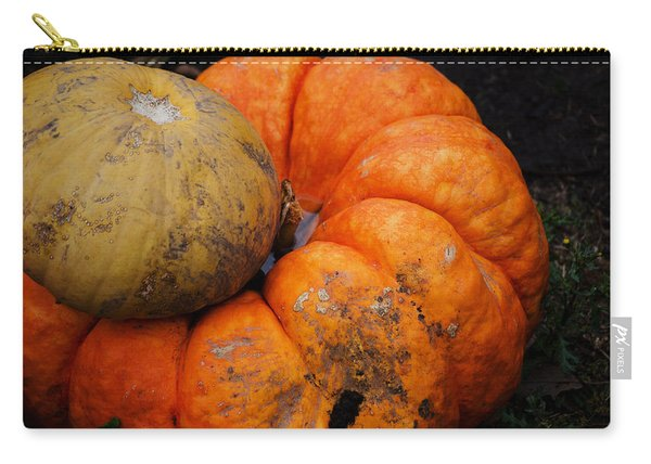 Stacked Pumpkins Carry-all Pouch