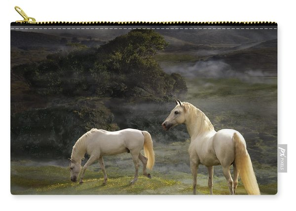 Stallions Of The Gods Carry-all Pouch