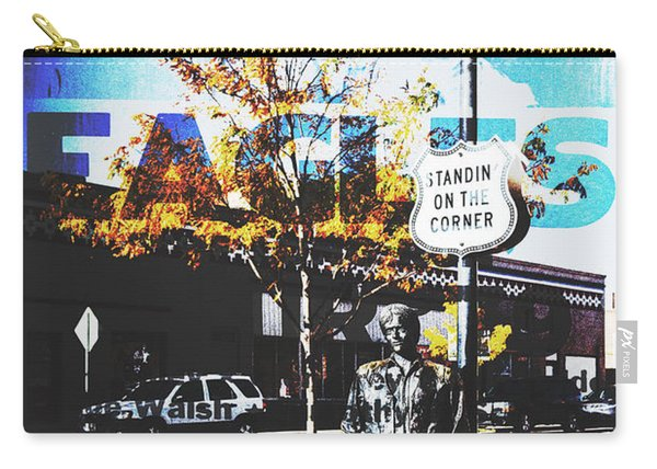 Standin On The Corner Carry-all Pouch