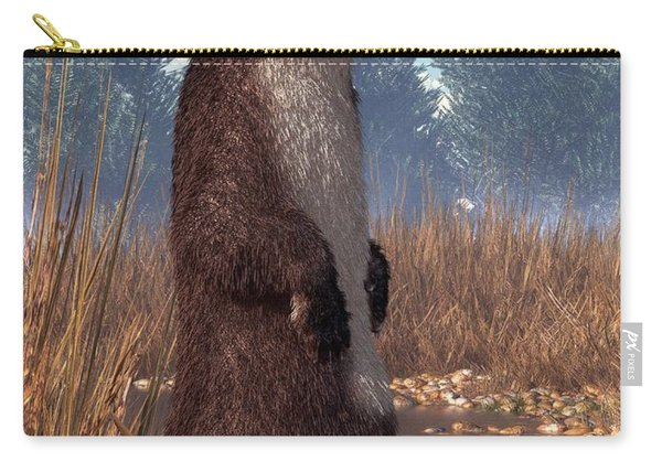 Standing Otter Carry-all Pouch
