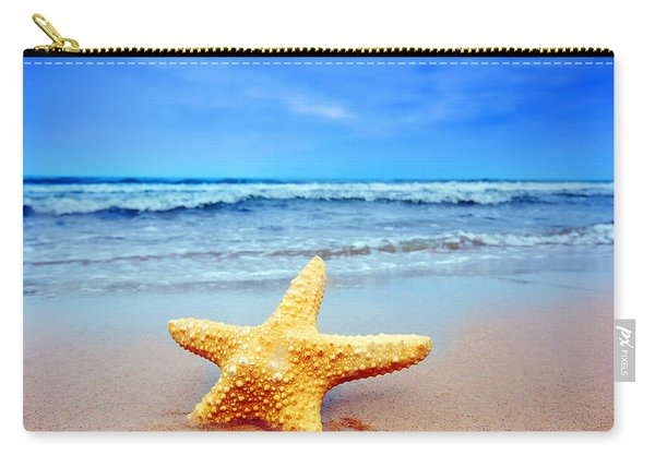 Starfish On A Beach   Carry-all Pouch