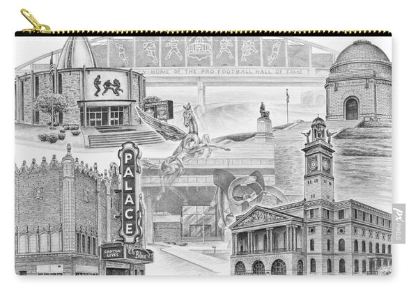 Stark County Ohio Print - Canton Lives Carry-all Pouch