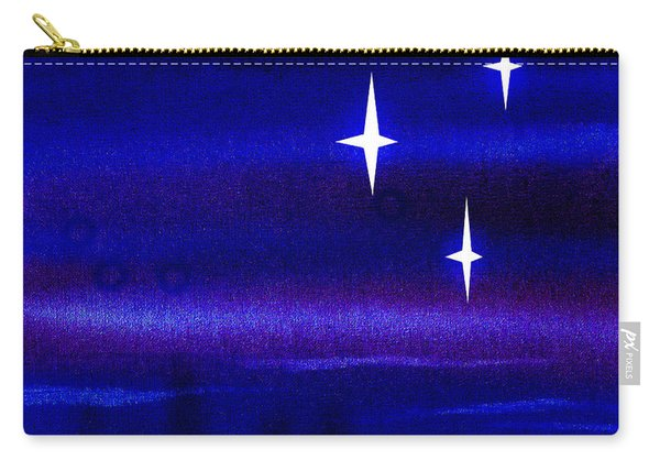 Starry Night Abstract I Carry-all Pouch