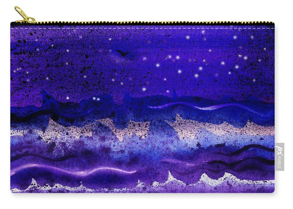 Starry Night Abstract II Carry-all Pouch