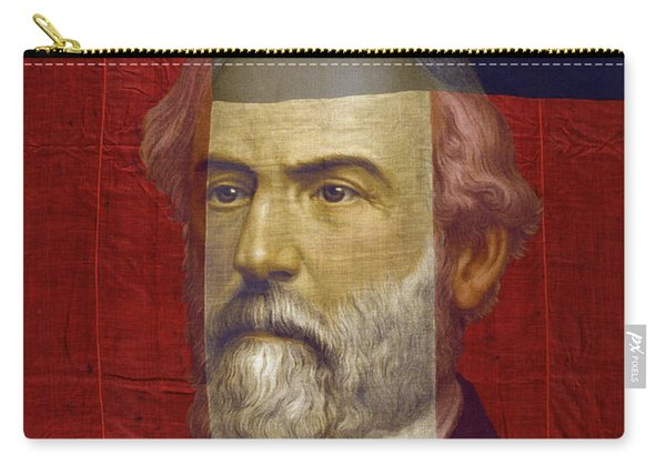 Stars And Bars General Lee Carry-all Pouch