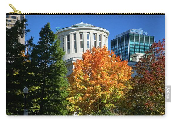 State Capitol Of Ohio, Columbus Carry-all Pouch