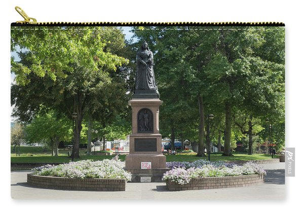 Statue Of Queen Victoria In Victoria Carry-all Pouch