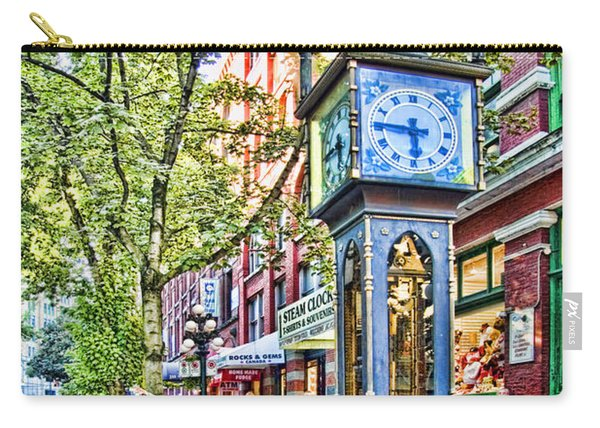 Steam Clock In Vancouver Gastown Carry-all Pouch