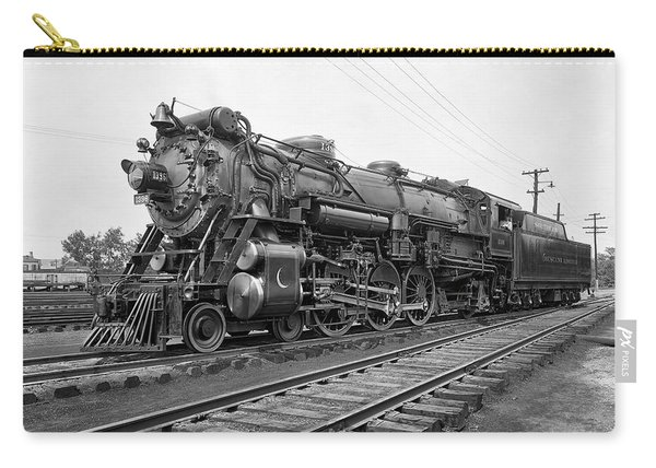 Steam Locomotive Crescent Limited C. 1927 Carry-all Pouch