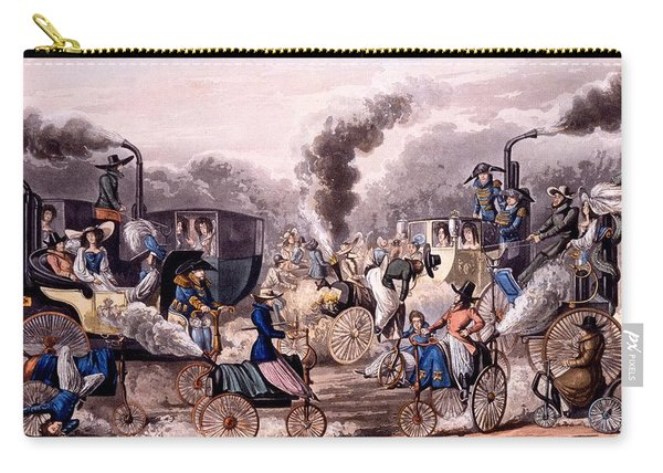 Steam-powered Vehicles Carry-all Pouch