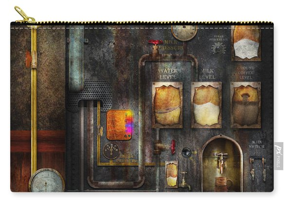 Steampunk - All That For A Cup Of Coffee Carry-all Pouch