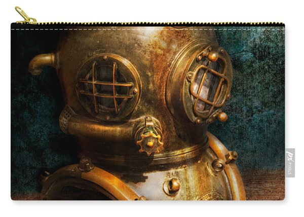 Steampunk - Diving - The Diving Helmet Carry-all Pouch