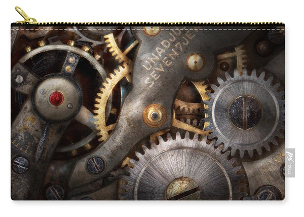 Steampunk - Gears - Horology Carry-all Pouch