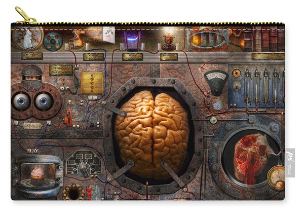 Steampunk - Information Overload Carry-all Pouch