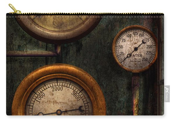 Steampunk - Plumbing - Gauging Success Carry-all Pouch