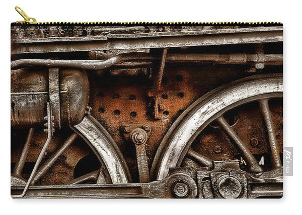 Steampunk- Wheels Locomotive Carry-all Pouch