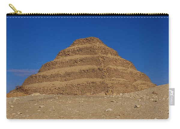 Step Pyramid Of King Djoser At Saqqara  Carry-all Pouch