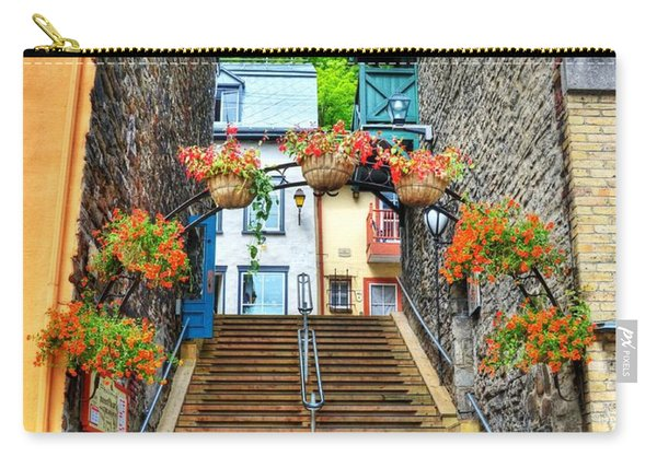 Steps Of Old Quebec Carry-all Pouch