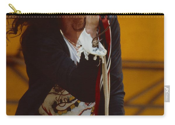 Steven Tyler Of Aerosmith At Monsters Of Rock In Oakland Ca Carry-all Pouch