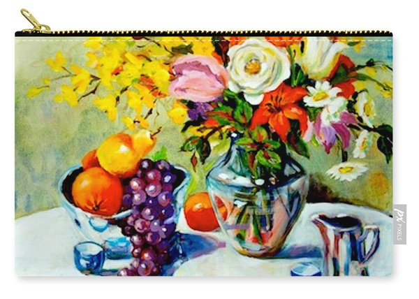 Still Life Creamer Carry-all Pouch