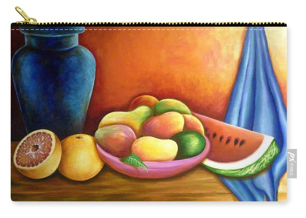 Still Life Of Fruits Carry-all Pouch