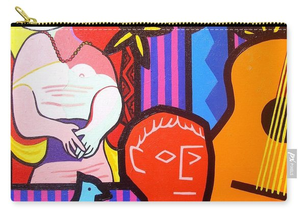 Still Life With Picasso's Dream Carry-all Pouch