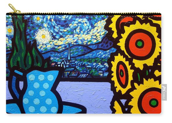 Still Life With Starry Night Carry-all Pouch
